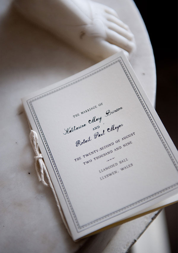 Mr. Boddington Invitation Design
