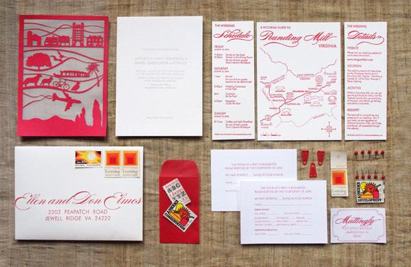 Wedding Invitations Custom Laser Cut