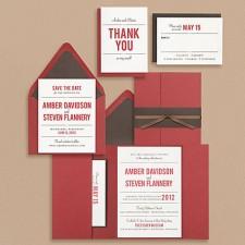 Paper Source Playbill Wedding Invitations