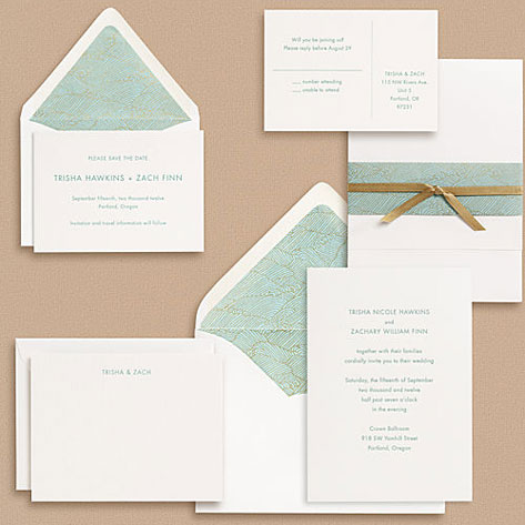 paper source sans serif type wedding invitations - Paper For Wedding Invitations