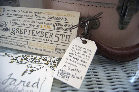 Printable Wedding Invitations by Designfest