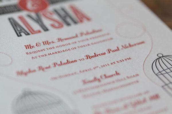 Seth Nickerson Wedding Invitation Design
