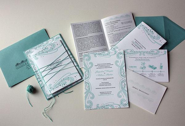 Booklet Wedding Invitations