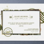 Civil Union Wedding Invitations