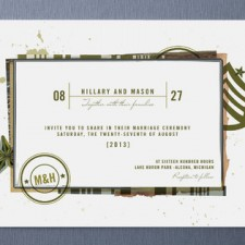 Civil Union Wedding Invitations