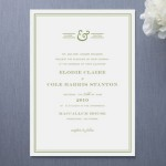 Country Club Wedding Invitations