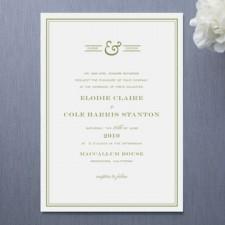 Country Club Wedding Invitations
