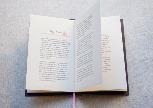 Letterpress Storybook Invitations