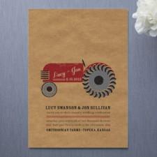 Farm Country Wedding Invitations