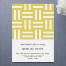 Float Weave Wedding Invitations