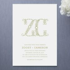 Homespun Wedding Invitations