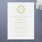 Modern Celtic Knot Wedding Invitations