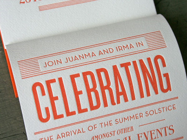 Juan and Irma Wedding Invitations