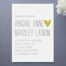Passing Notes Wedding Invitations