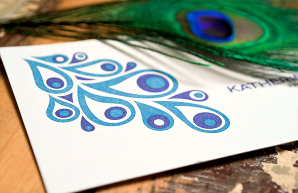 Modern Peacock Invitations by Office of Nature Invitation Crush