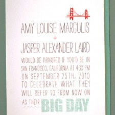Big Day Wedding Invitations