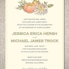 Heirloom Harvest Wedding Invitations
