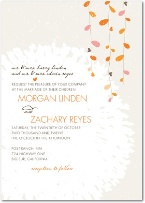 Summer Sway Wedding Invitations
