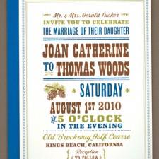 Tahoe Wedding Invitations