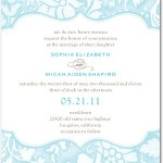 Tender Elegance Wedding Invitations