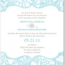 Tender Elegance Wedding Invitations