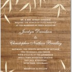 Willowy Wood Wedding Invitations