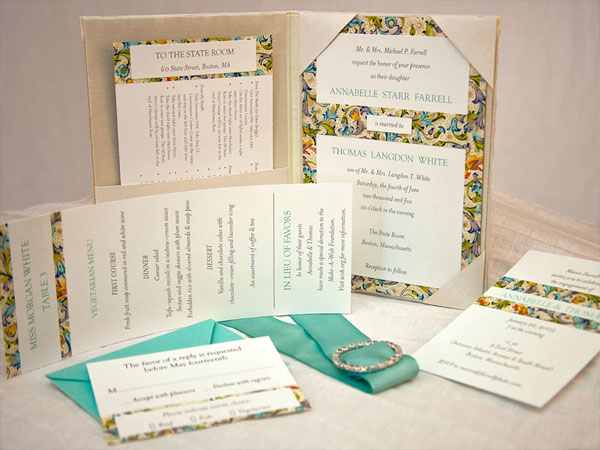 Ornate Wedding Invitation Design