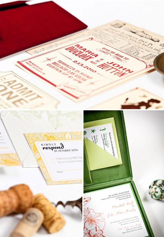 LOL Letterpress Custom Wedding Invitations