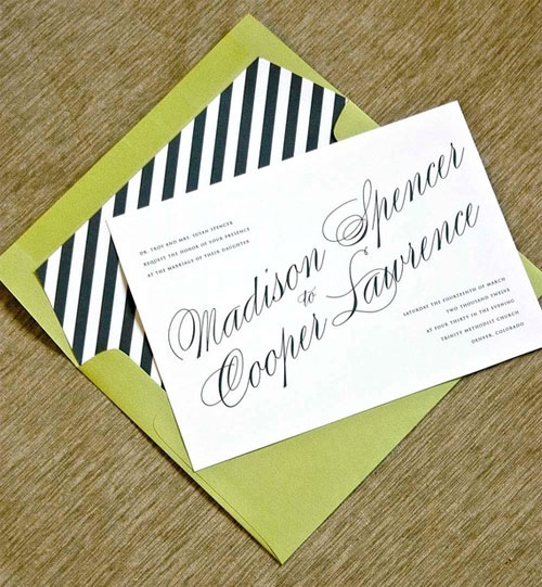 Astaire Wedding Invitations