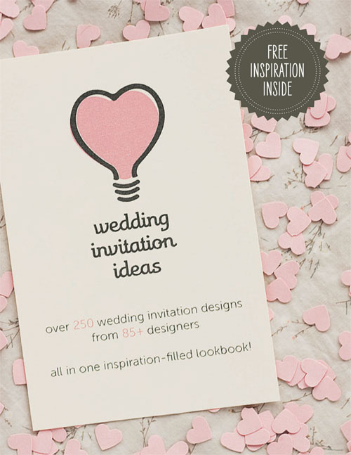 Wedding Invitation Ideas Lookbook