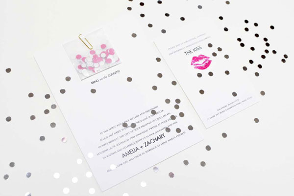Kate Spade Inspired Wedding Suite