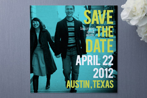 Love Bop Save the Date Cards