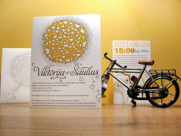 Love Compose Letterpress Wedding