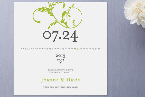 summer solstice save the date cards invitation crush
