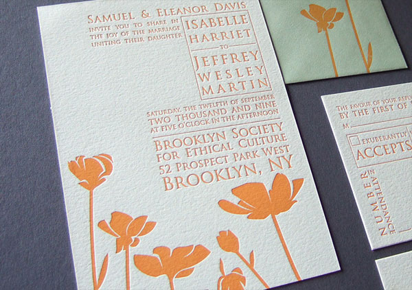 Cinematic Wedding Invitations