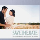 Three Words Save the Date Cards