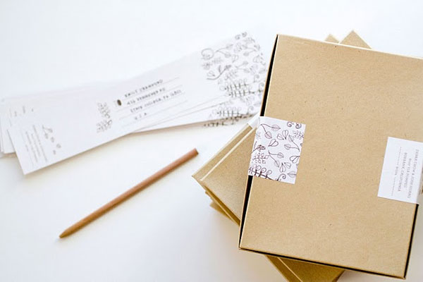 MaeMae Paperie Wedding Invites
