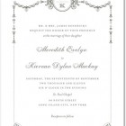 Draped Elegance Wedding Invitations