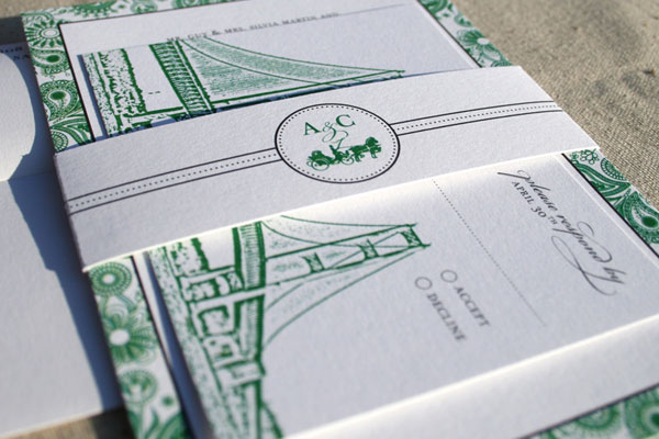 Mackinac Island Wedding Invitations
