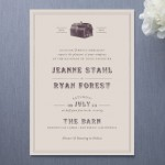 Rustic Barn Wedding Invitations
