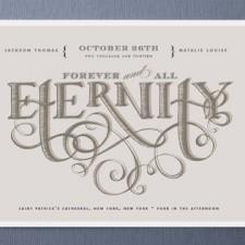 Eternity Wedding Invitations