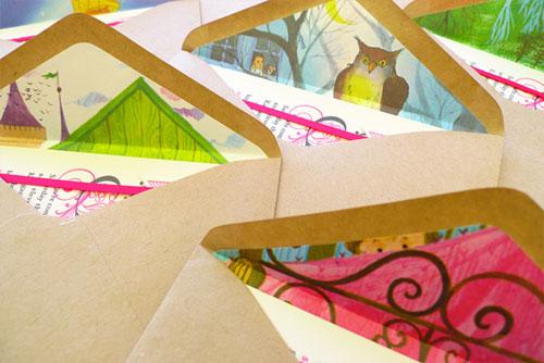 Golden Book Envelope Liners