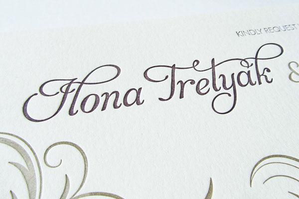 Anastasia Marie Custom Invitations