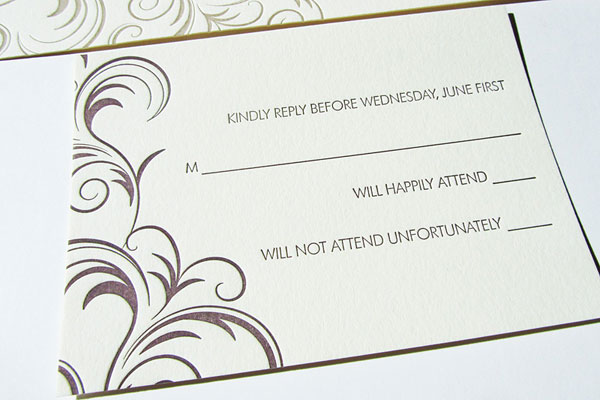Wedding archives page 15 of 46 invitation crush letterpress reply card stopboris Gallery