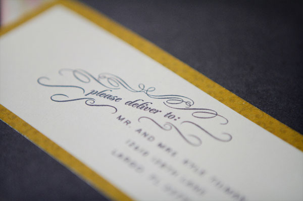 Rustic Elegant Wedding Invitations - Invitation Crush