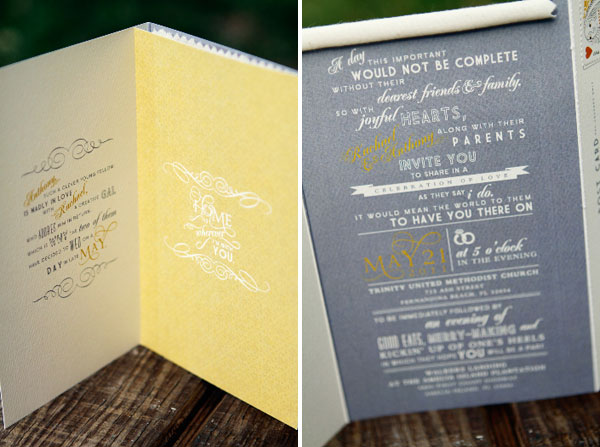 Z Fold Wedding Invitations