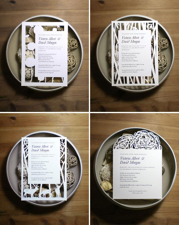 Custom Papercut Wedding Suites