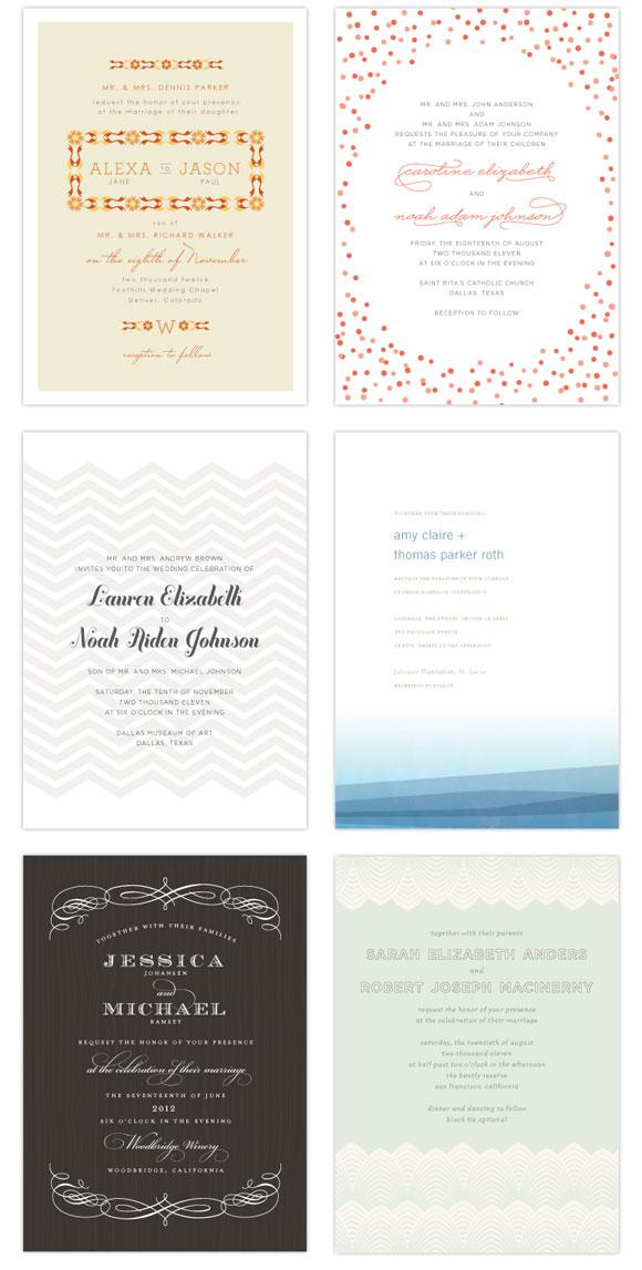 Wedding Invitations by Brightside Prints