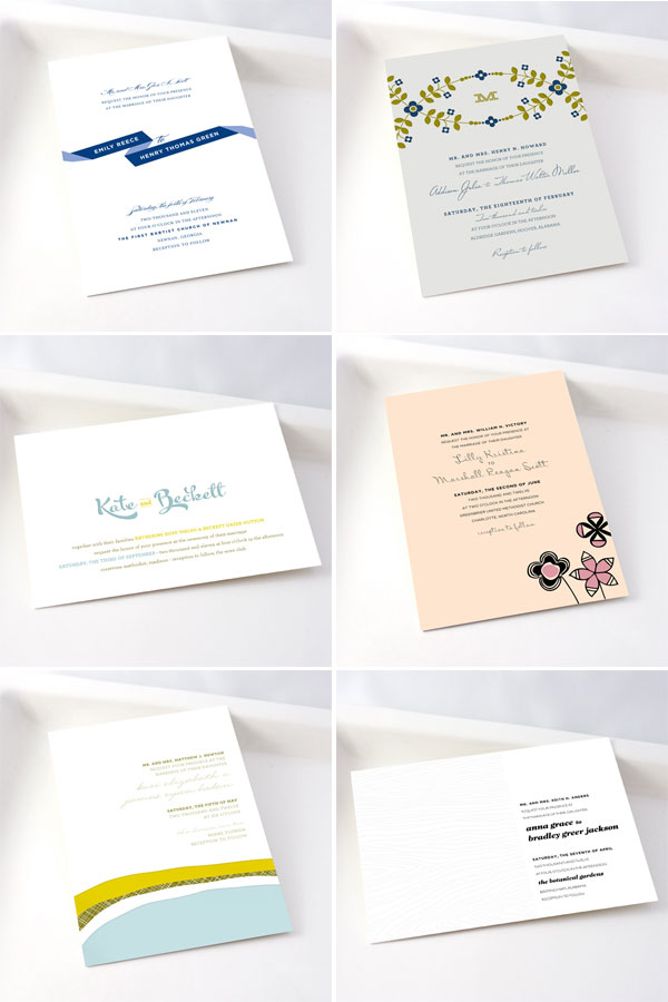 Stacey Day Letterpress Wedding Invitations