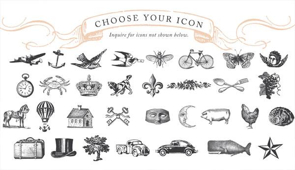 Storybook Wedding Suite Icons